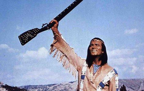 Náčelník Apačů Vinnetou – nejslavnější role Pierra Brice.