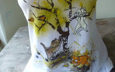 432feafa2a5 Buďte za kočku... Vyrobte si originální triko! II.