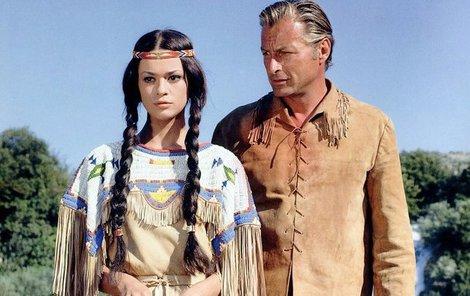 Německá herečka Karin Dor (†79) alias indiánka Ribanna odešla, ale...Veteráni od Vinnetoua točí dál!