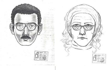 Pachatelé na policejní skice.