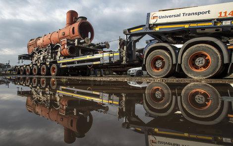 Lokomotiva naposledy jezdila na vlečce v cihelně Hodonín.