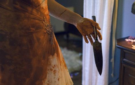 Nejvíc krve měla na sobě Josefíková.
