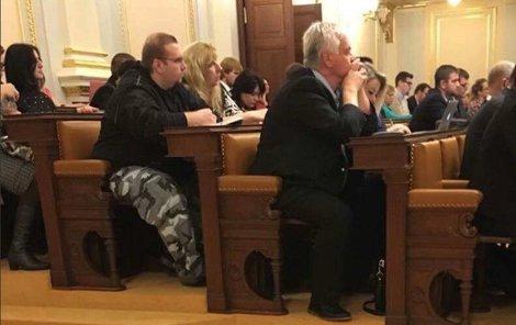 Martin Stehlík se ve Sněmovně objevil omylem.