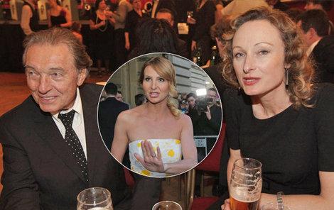 Součástí života Karla Gotta není jen manželka Ivana, ale také přítelkyně Alice.