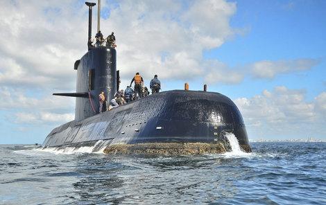 Vojenská ponorka ARA San Juan zmizela 15. listopadu.