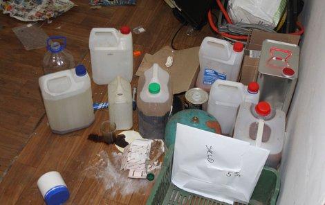 Policisté »uklidili«  výrobce drog