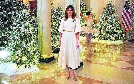 Vánoce v Bílém domě.