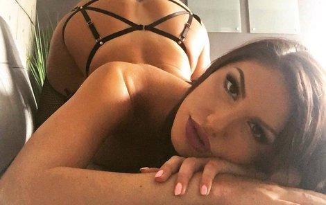 Pornoherečka August Ames ráda dráždila na Instagramu.