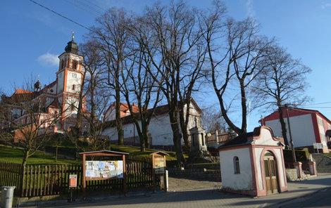 Kostel v Bolaticích.