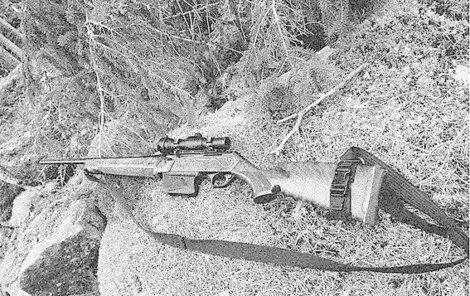 Nešťastníka zastřelili loveckou puškou.
