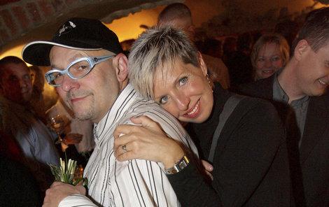 Marcela Březinová s manželem