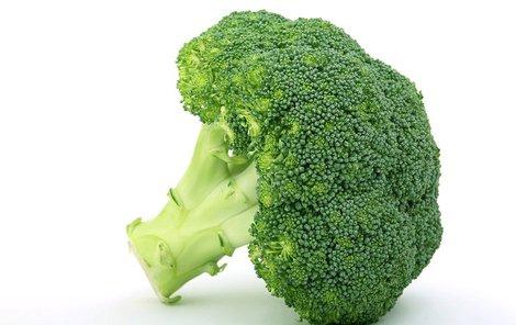 Muffiny s brokolicí
