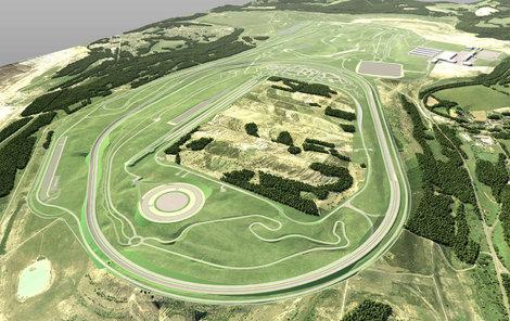 Polygon budou tvořit dva ovály, větší pro zátěžové jízdní testy vozidel a menší pro testování autonomních vozů.