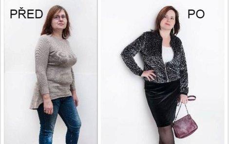 Paní Libuše před a po proměně