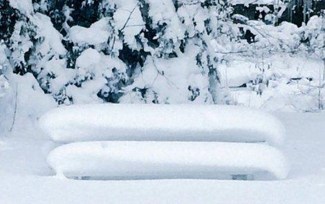 Přituhuje... Meteorologové vydali výstrahu před silným sněžením a větrem.