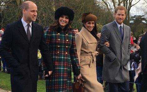 Tahle fotka královských princů s družkami obletěla svět.