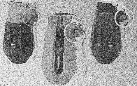 Donarit se používal jako náplň do granátů.