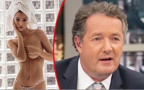 Piers Morgan se před pár dny se opřel do sexbomby Emily Ratajkowski