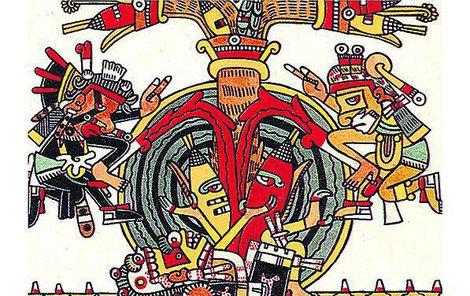 Aztécký horoskop tvoří celkem devět takzvaných figur, z nichž každá reprezentuje určité číslo.