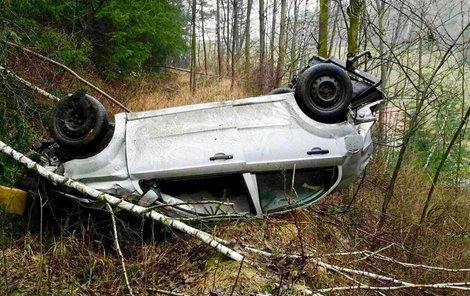 Uvnitř našel smrt řidič (†54).