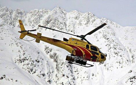 Nehoda při lyžování?
