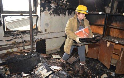 Jitka Navrátilová (70) archiv dávala dohromady, nyní ho zachraňuje.