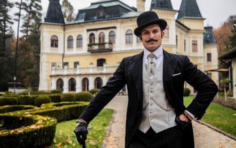 Ján Koleník strávil na zámku Betliar díky natáčení čtyři měsíce.
