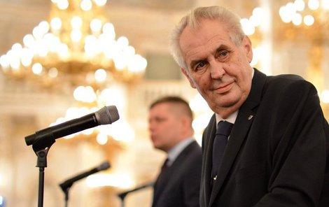 Prezident Zeman obhájil mandát.