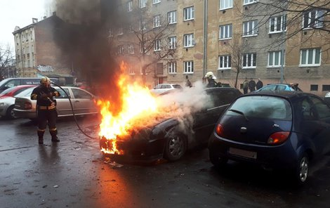 Podpálil auto někomu jinému