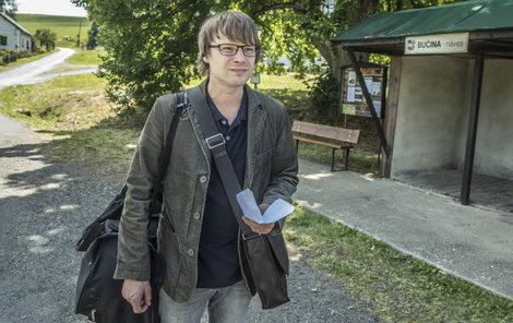 Virolog Pavel Rogl přijídí na Šumavu...