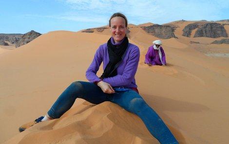 Archeolozka Jitka Soukopova 41 Travi Mesice V Saharske Pousti