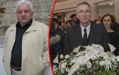 Na poslední rozloučení s Mariánem Labudou dorazil i János Bán.