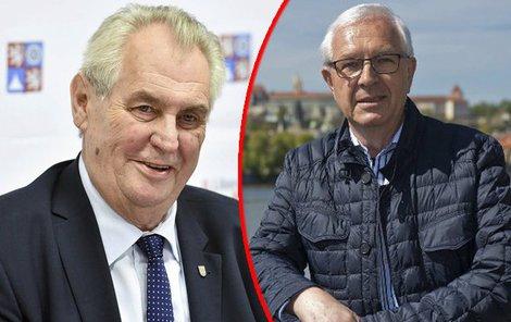 Nad evropskými otázkami si oba kandidáti prakticky notují.