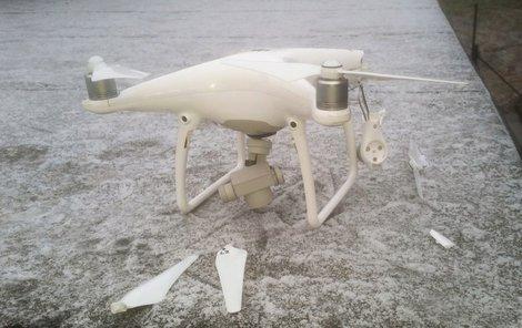 Sestřelil drahý letící dron!