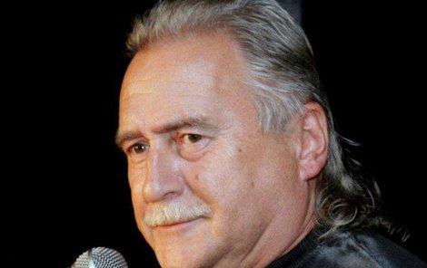 Legendární rocker Oldřich Veselý.
