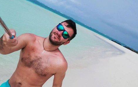Marek Ztracený na dovolené na ostrově Mauricius.