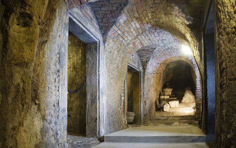 Katakomby v Plzni