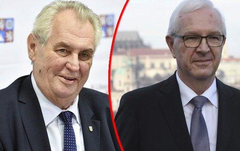 Hodinový »pokec« Miloše Zemana (73) a Jiřího Drahoše (68) proběhne v Hudebním divadle Karlín.