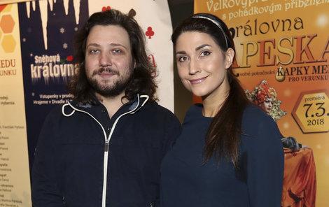 Michaela Zemánková (36) s Felixem Slováčkem mladším (34)