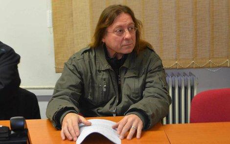 Roman Matěják u soudu.