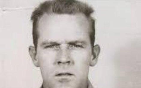 Clarence Anglin při zadržení.