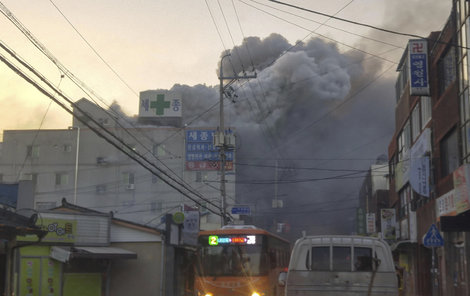 Požár v Jižní Koreji zabil 41 lidí