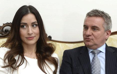 Alexandra Mynářová s manželem Vratislavem