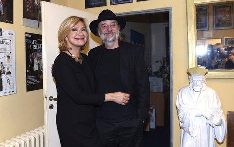 Jana Paulová s manželem