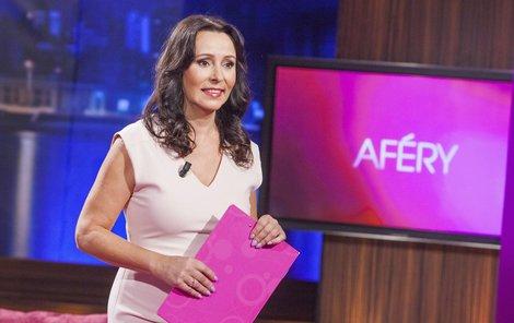 Heidi jako moderátorka Afér chtěla být mírná.