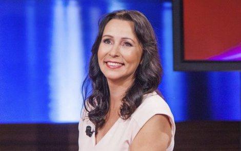 Heidi Janků v pořadu Aféry.