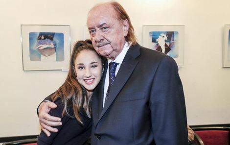 Natálie Grossová s Františkem Janečkem