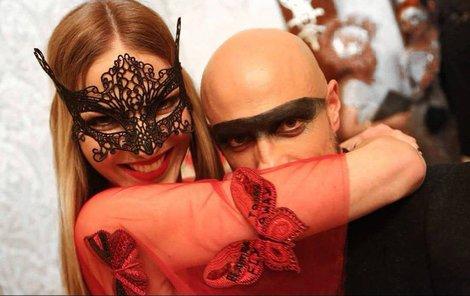 Pavlína řádila s módním stylistou Filipem Vaňkem.