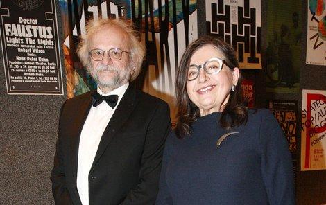 Zuzana Kronerová a manžel Milan Hladký.