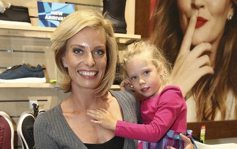 Krystýna Kloubková s dcerou
